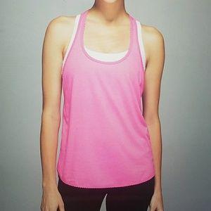 Lululemon pink singlet tank size 4